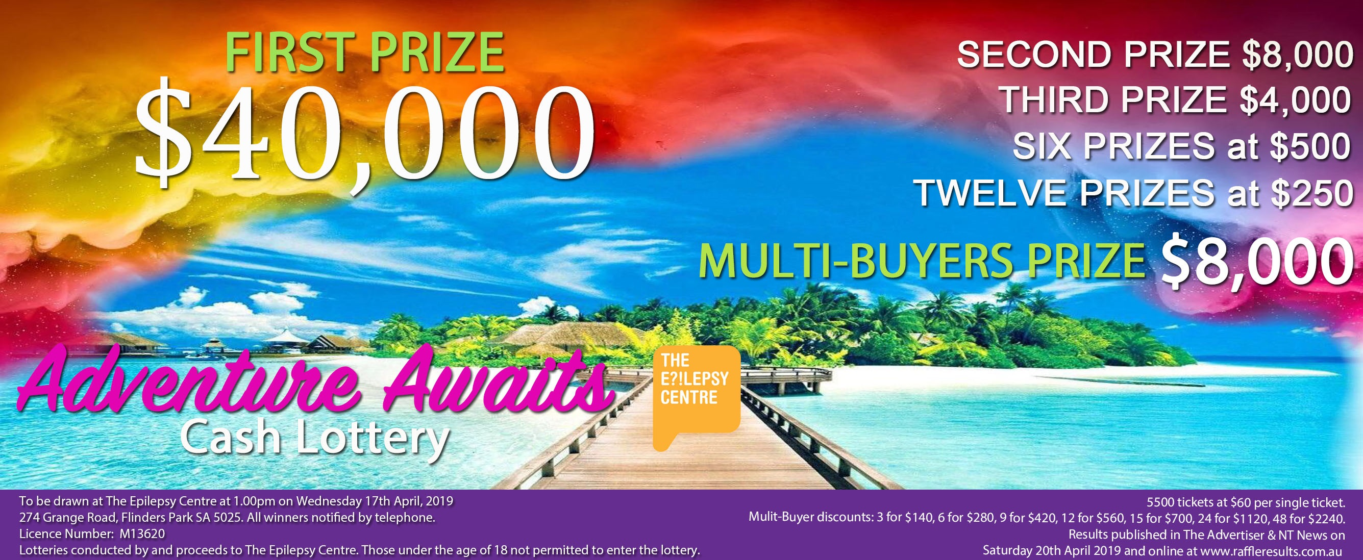 Win 2 X 250 Shopping Sprees At Broadway Shopping Centre: Raffles On Sale